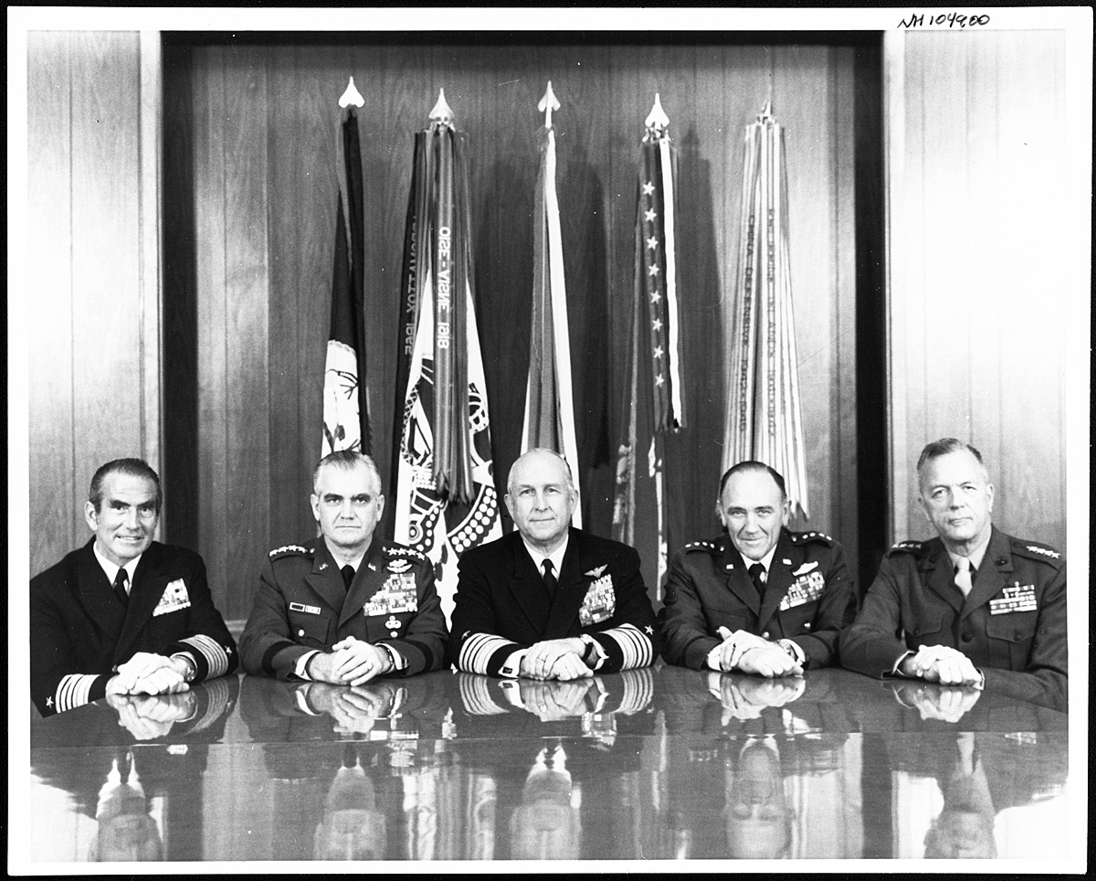 The Moorer Joint Chiefs of Staff