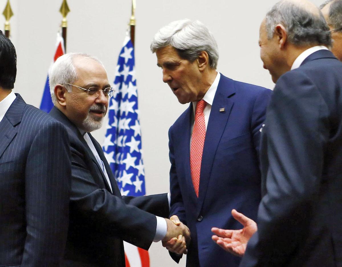 Zarif-Kerry handshake