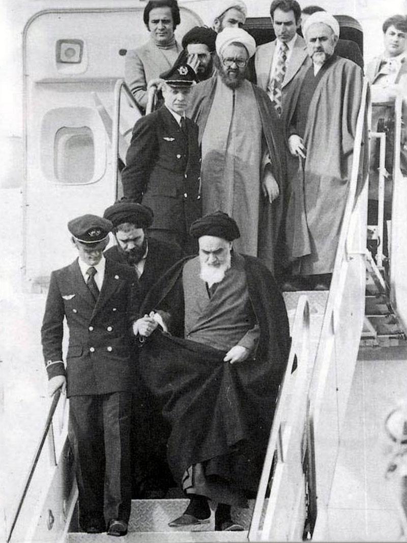 Khomeini in Mehrabad