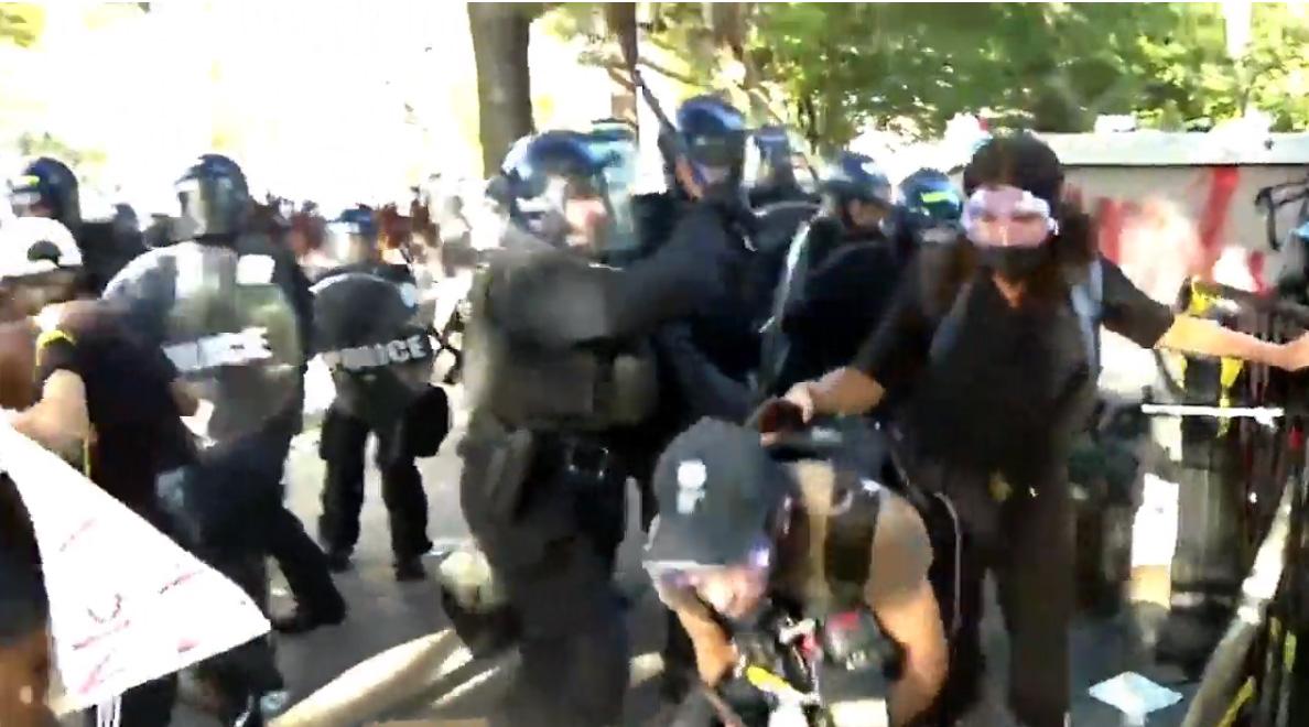 Lafayette Park police