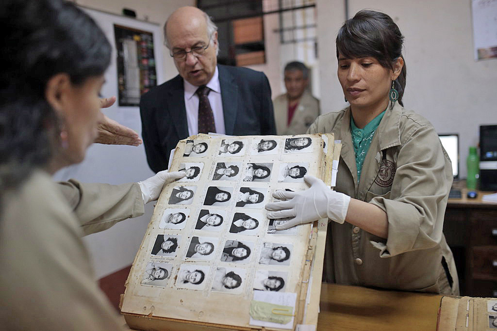 Guatemala police archive