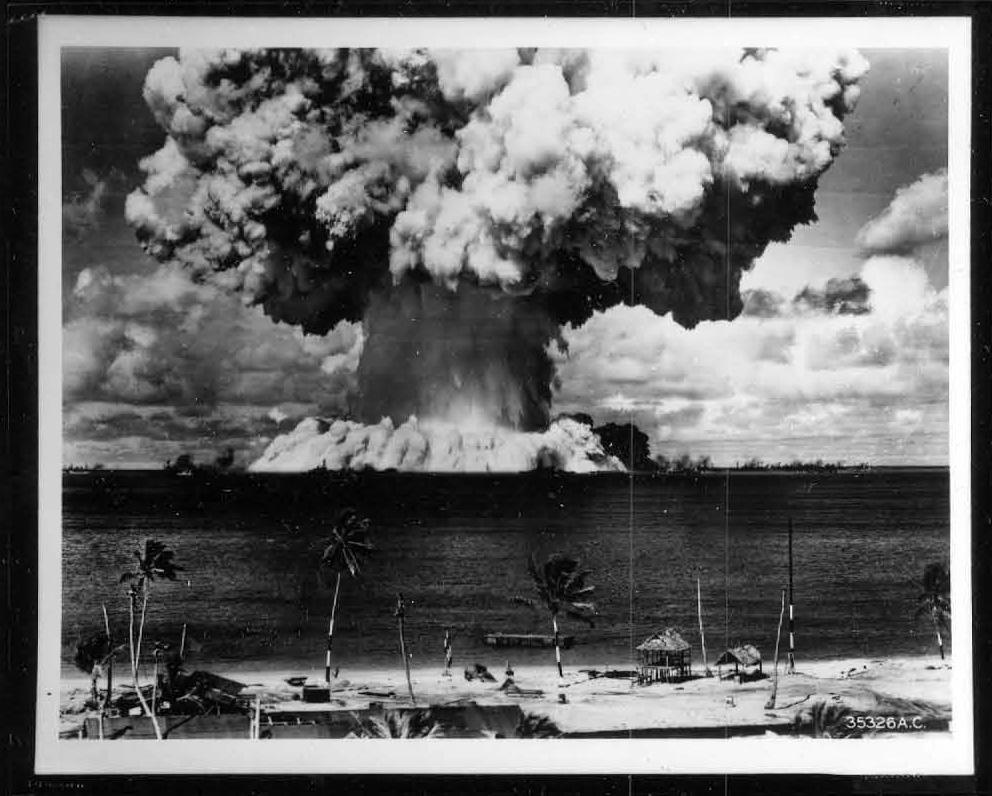 Bikini contamination bomb