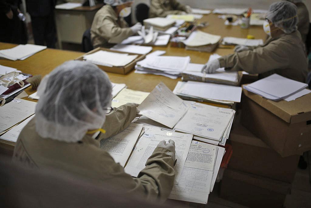 Guatemala police archive