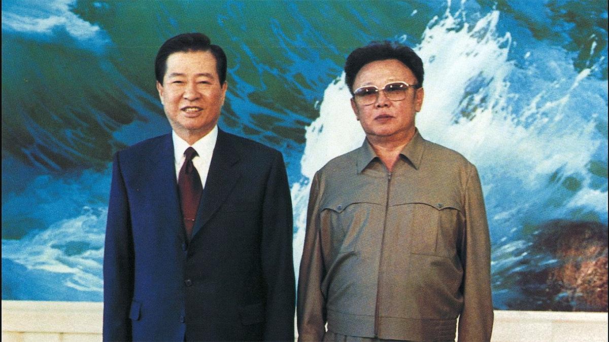Kim Jong-il and Kim Dae-jung