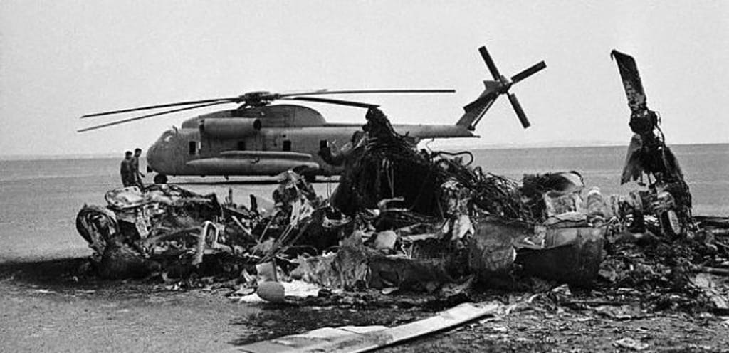 Aftermath of Operation Eagle Claw