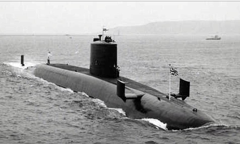 H.M.S. Repulse submarine