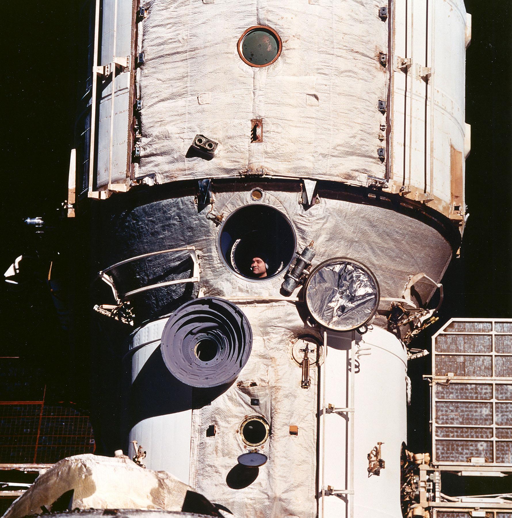 Cosmonaut Valeriy V. Ployakov
