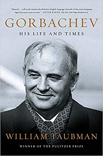 Gorbachev his life and time book cover
