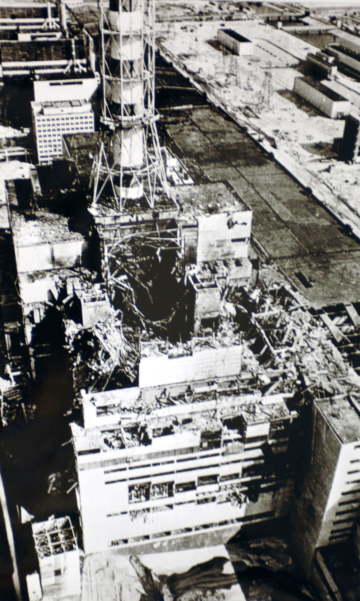 Chernobyl after catastrophe