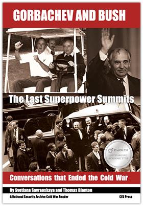 Gorbachev and Bush book cover