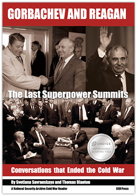 Gorbachev and Reagan book cover