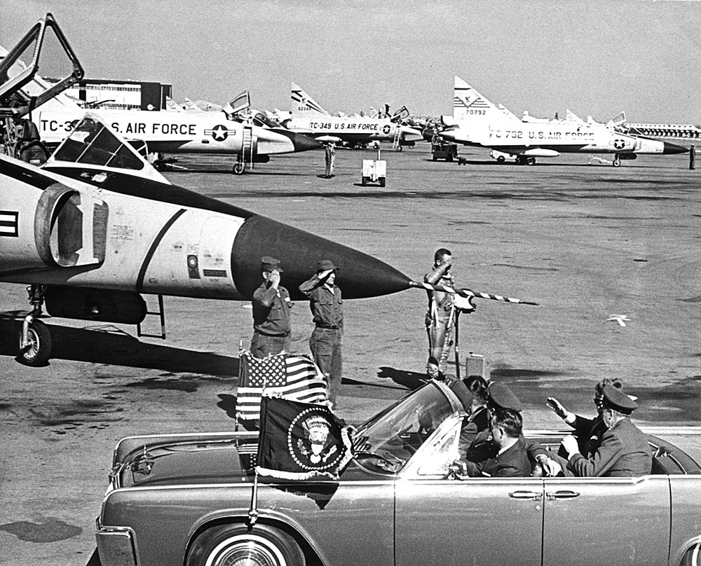 JFK inspected Homestead Air Force Base