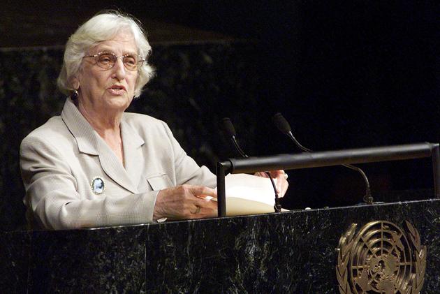 Janet Jagan, former president of Guyana