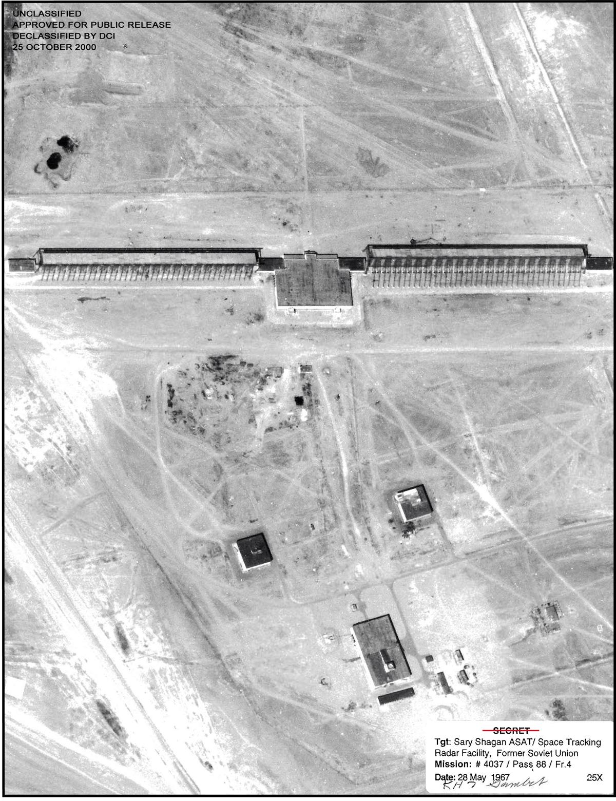 Hen House radars at the Sary Shagan anti-ballistic missile test and development center