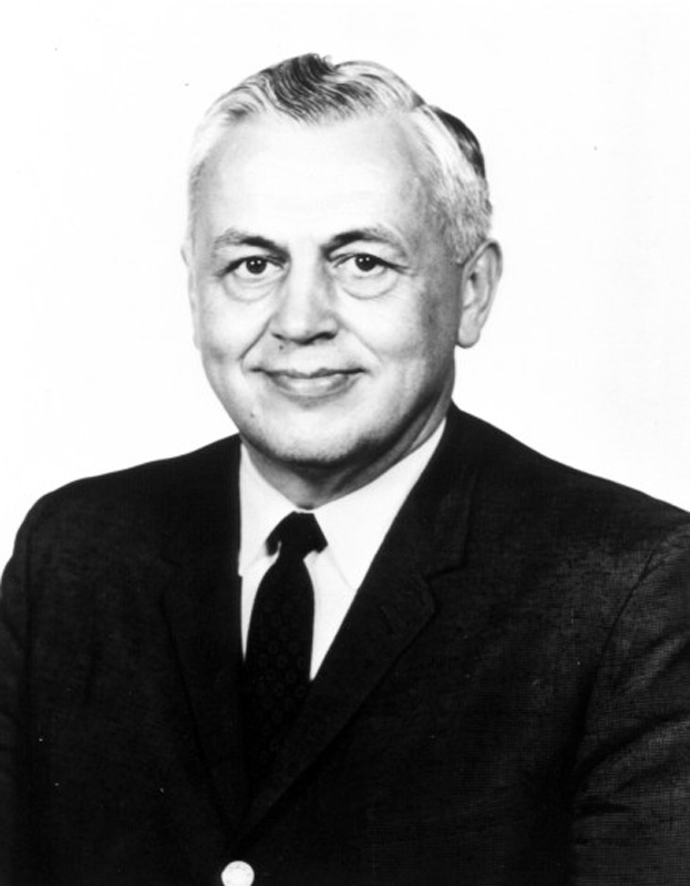 Art Lundahl, head of the CIA's Photographic Interpretation Division from 1953-1961.  That division analyzed all the U-2 photography acquired from 1956 on. (CIA)