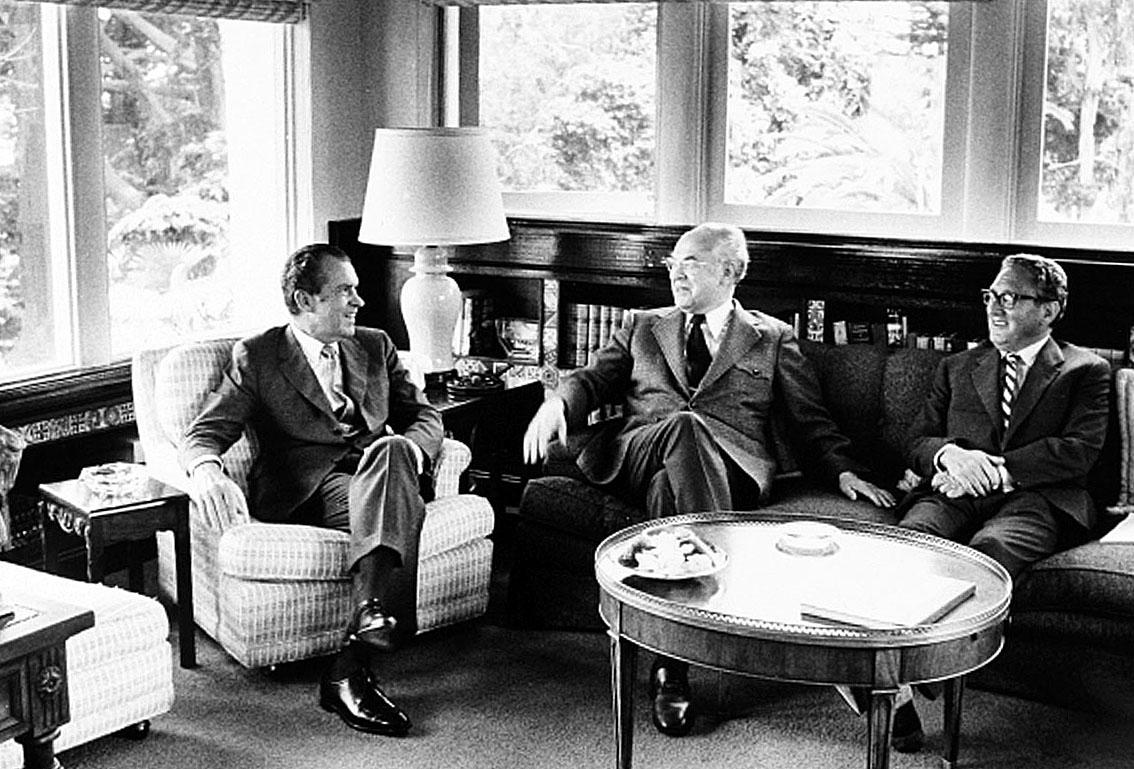 Nixon Dobrynin Kissinger