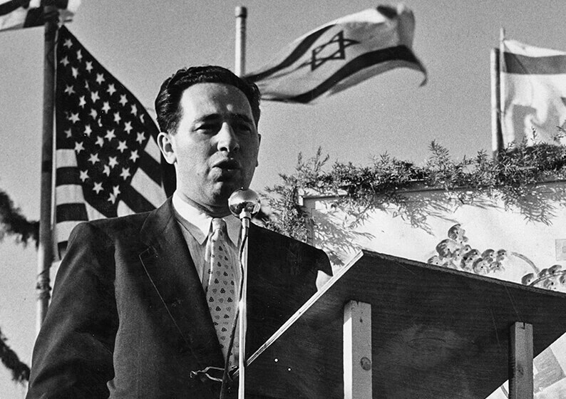 Peres in 1958