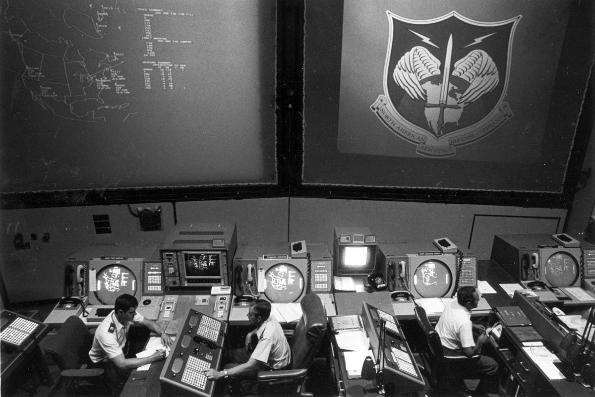 Command post for all NORAD