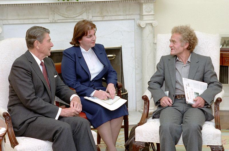 Yuri Orlov and Ronald Reagan
