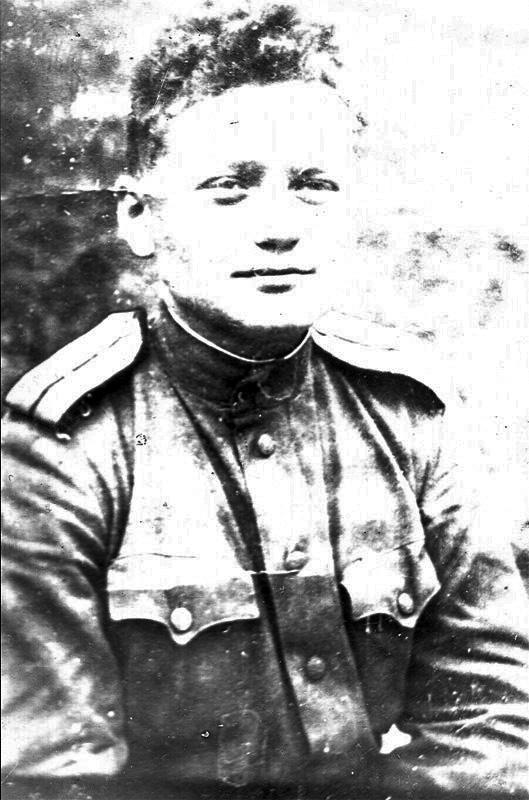 Second lieutenant Yuri Orlov, Soviet army, Hungary 1945.