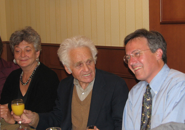 Sidney and Yuri Orlov with Archive director Tom Blanton