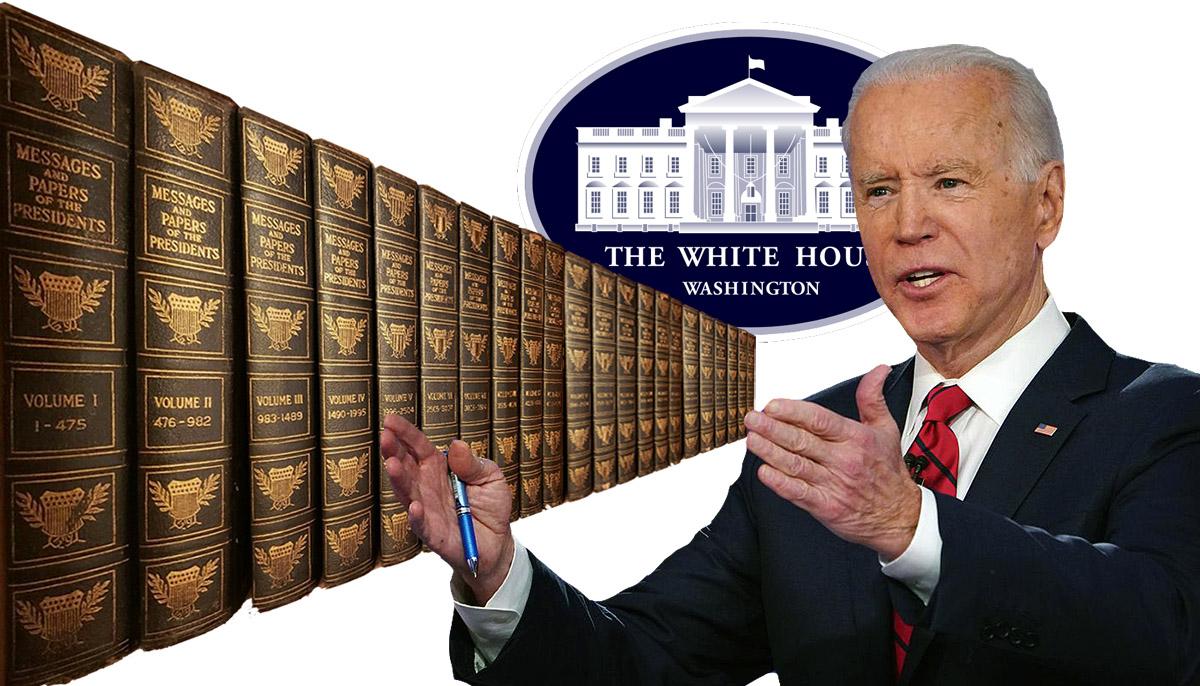 Biden, presidential records