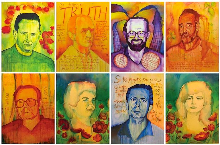 titled Jesuit Martyrs of El Salvador and Their Companions