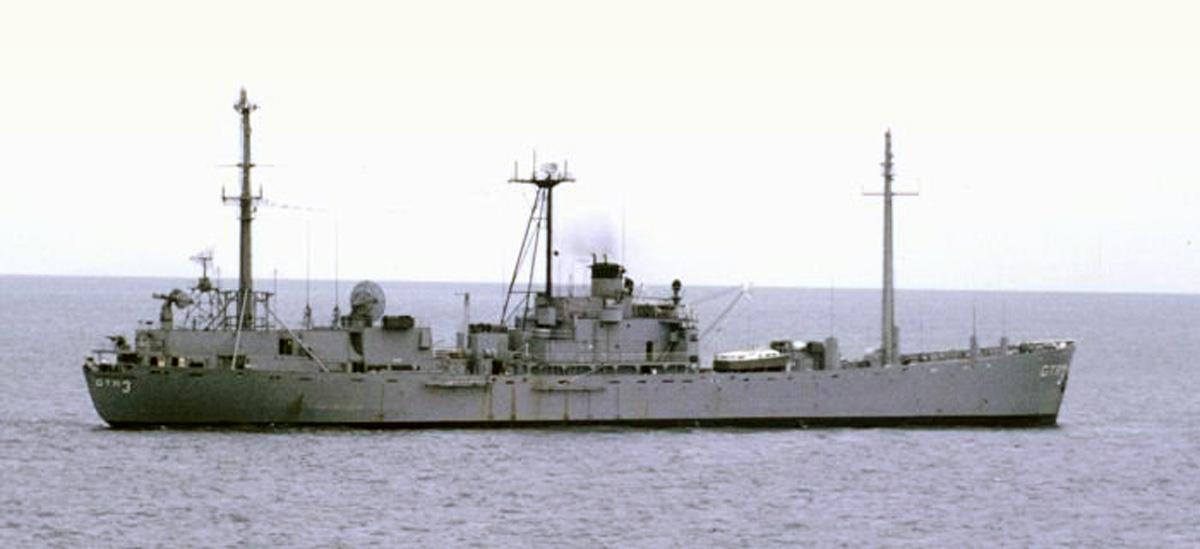 The USS Jamestown