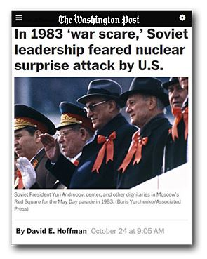 Washington Post War Scare article